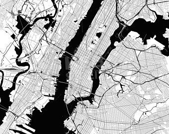 340x270 New York City Vector Etsy