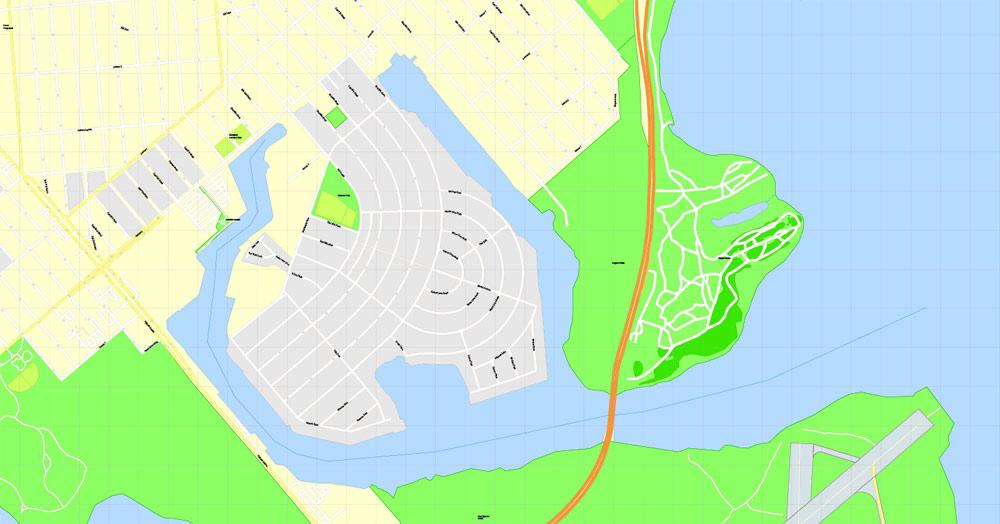 1000x524 Printable Map Of New York Brooklyn Printable Map New York City