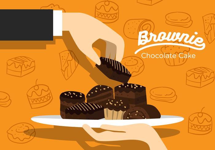 700x490 Brownie Free Vector Art