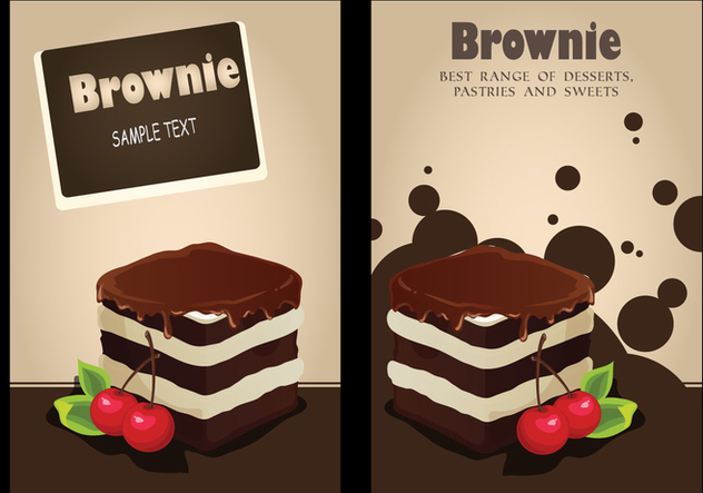 632x443 Brownie Invitation Background Vector Free Vector Download 363915