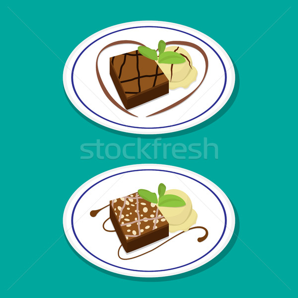 600x600 Brownie Stock Vectors, Illustrations And Cliparts Stockfresh