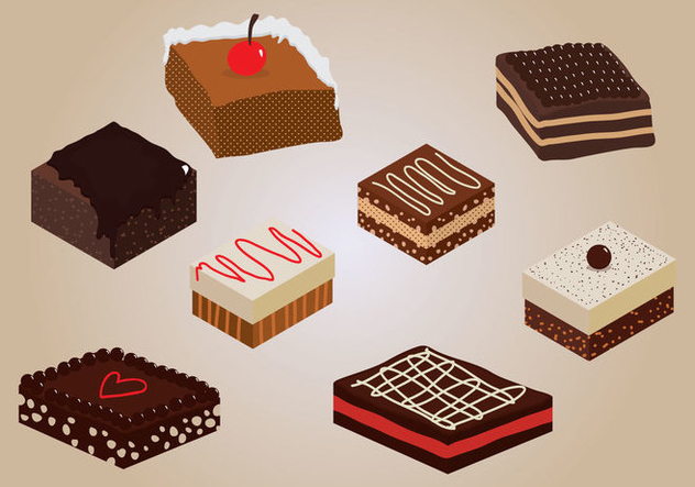 632x443 Brownie Vector Free Vector Download 359401 Cannypic