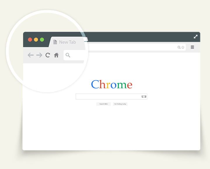 720x580 Free Flat Vector Browsers Set