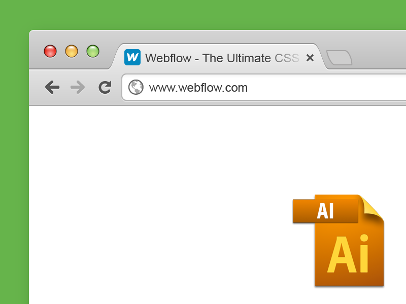 800x600 Free Vector Chrome Browser Window By Sergie Magdalin