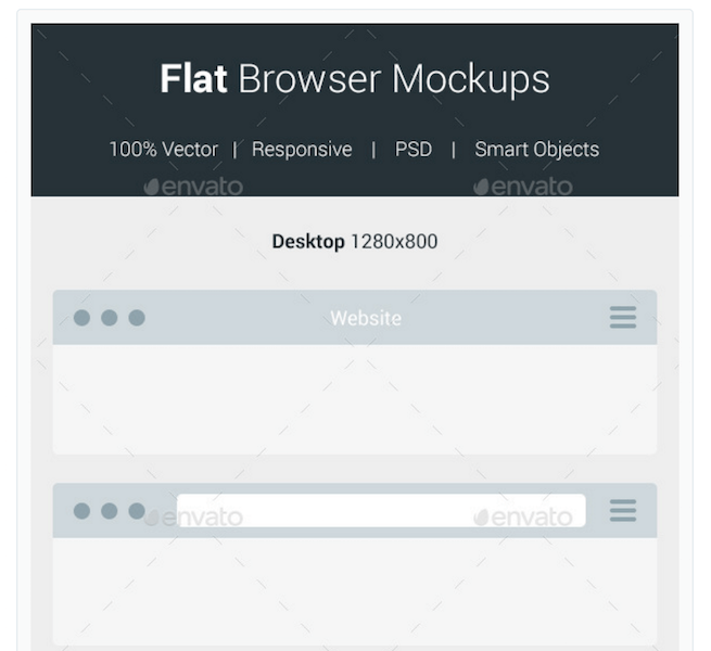 655x600 Top 29 Web Browser Mockups In Psd And Ai In 2018
