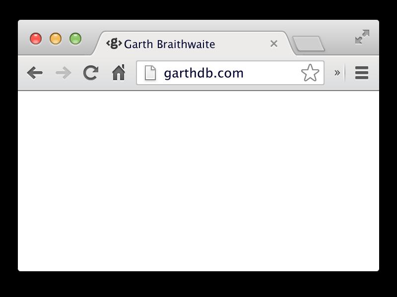 800x600 Vector Browser Template By Garth Braithwaite