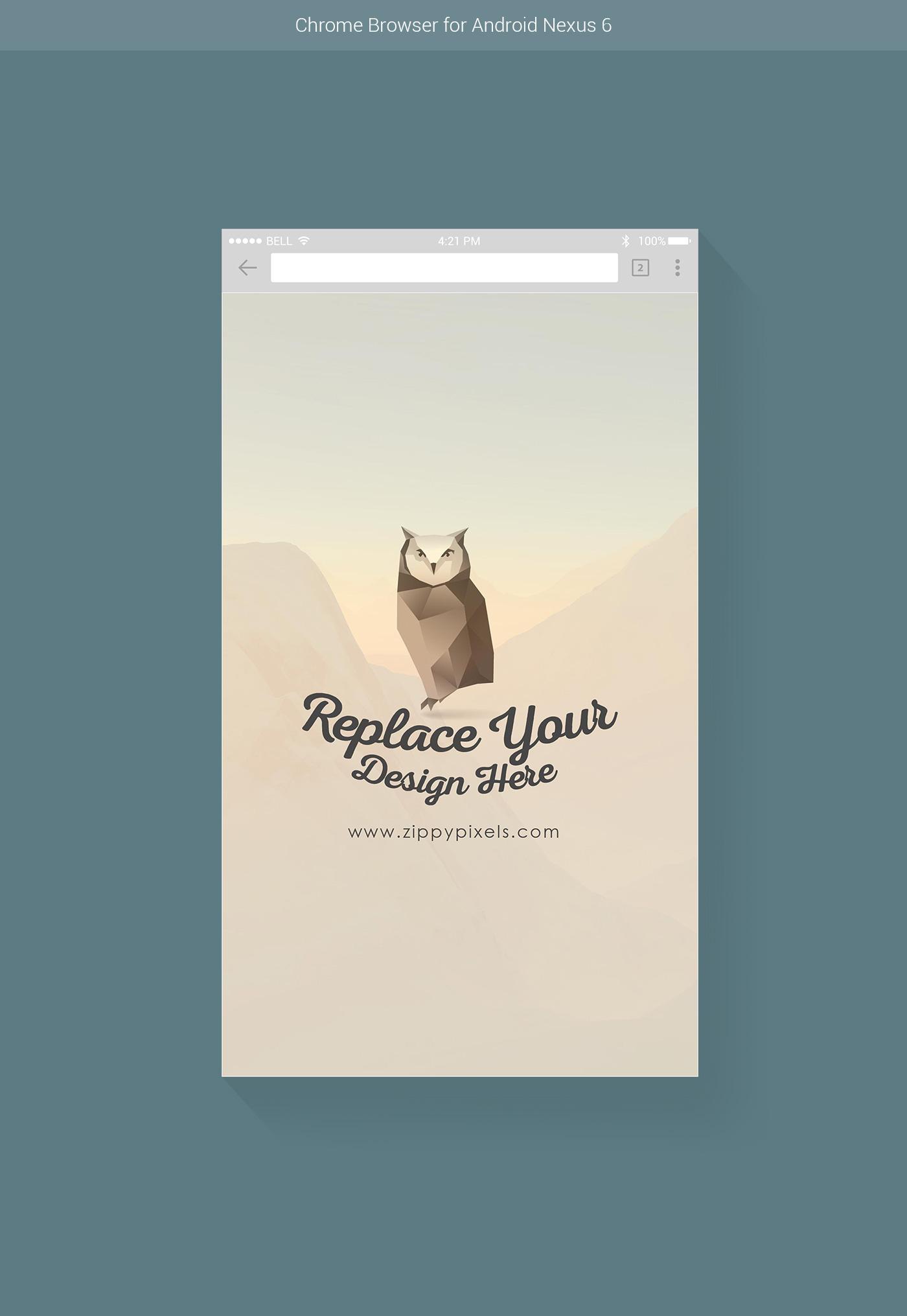 1400x2031 7 Free Vector Web Amp Mobile Browser Mockups On Behance