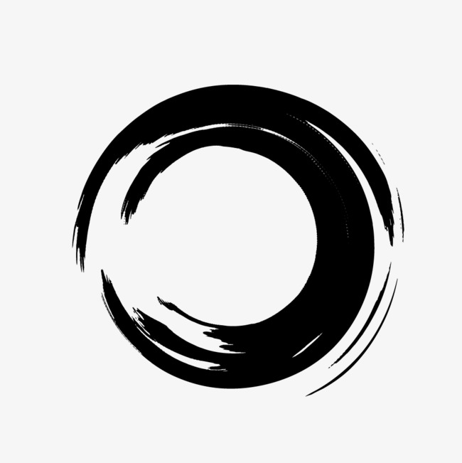 650x651 Vector Ink Pen Brush Circle, Brush, Vector, Ink Png And Vector For