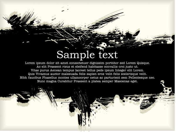 600x451 Ink Ink Brush Strokes Vector Free Vector In Encapsulated