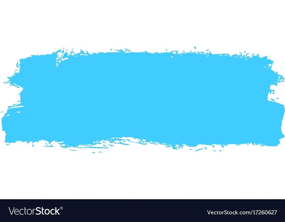 1000x780 Blue Paint Brush Blue Paint Brush Stroke Vector Image Blue Paint