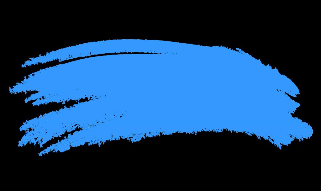 1024x609 Blue Paint Brush Stroke Png