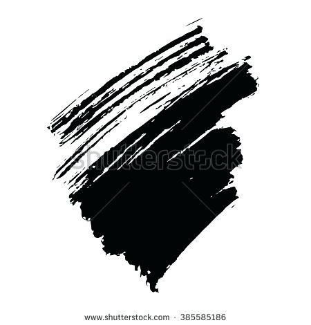 450x470 Black Brush Stroke Black Brush Stroke Magenta Scarf Close Up View