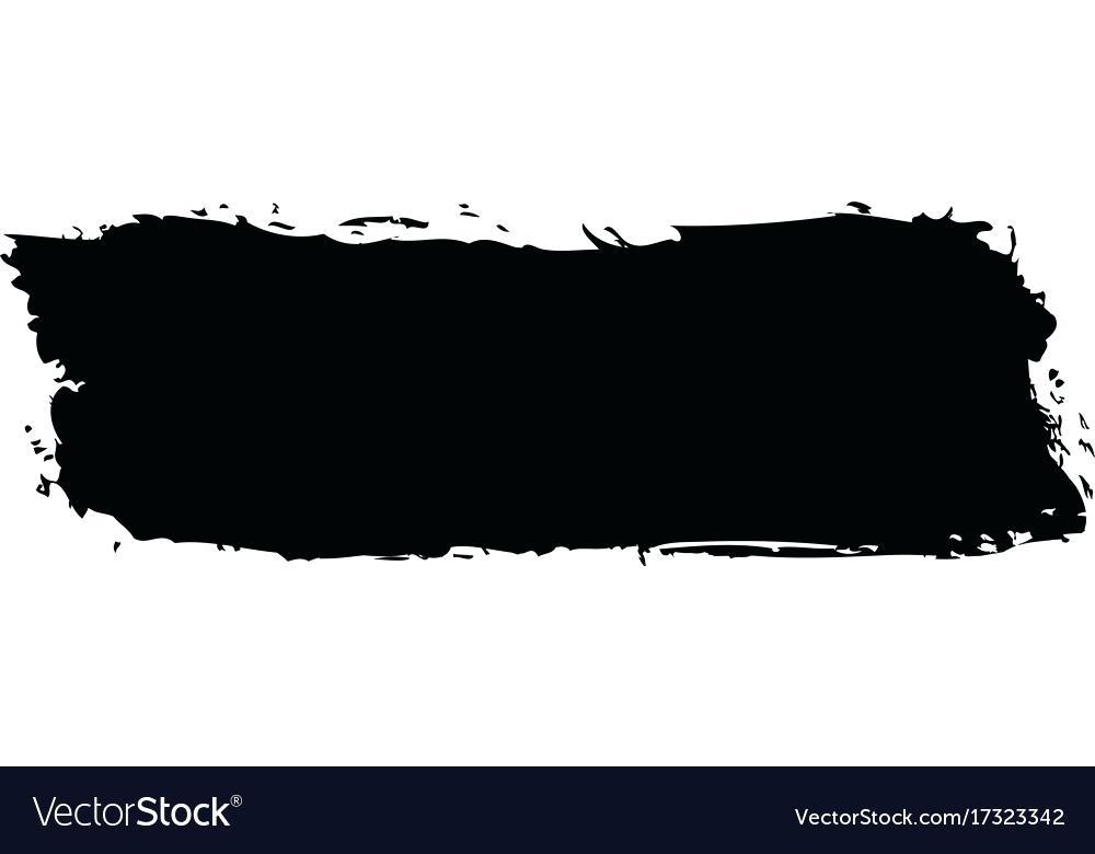 1000x780 Black Brush Stroke Vector Dirty Brush Strokes Black Brush Stroke
