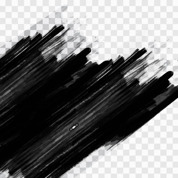 626x626 Black Brush Strokes Vector Free Download