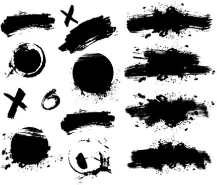 431x368 Ink Brush Vector Free Vector Download (1,827 Free Vector) For