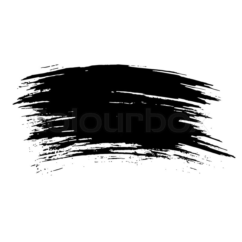 800x800 Ink Vector Brush Strokes Background. Vector Illustration. Grunge