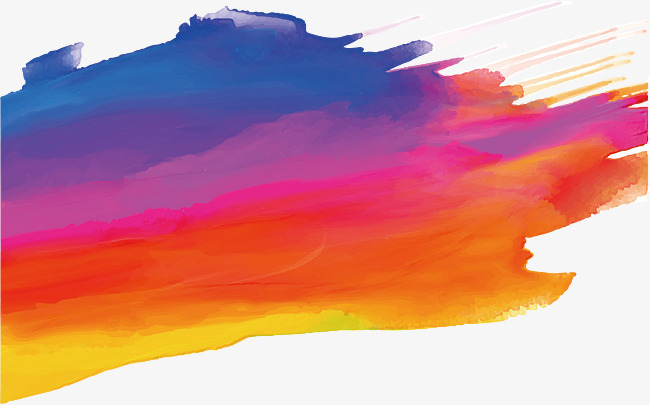 650x405 Colorful Graffiti Brush, Vector Png, Doodle Brush, Colorful Png