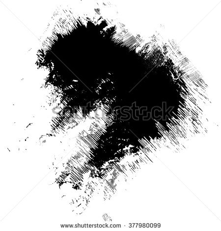 450x470 Collection Of Paint Brush Stroke Clipart Black And White