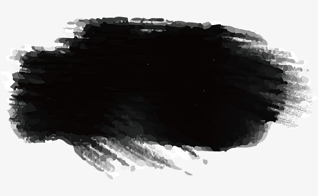650x400 Black Ink Brush, Vector Material, Ink Brush, Ink Png And Vector