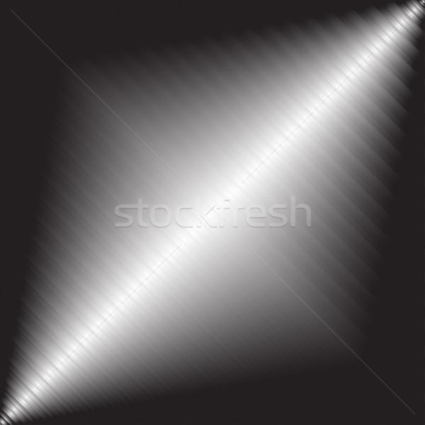 600x600 Brushed Metal Background. Vector Illustration Expressvectors