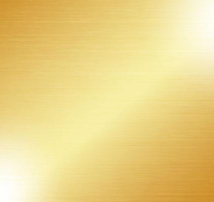 425x403 Golden Brushed Metal Background Vector Material Free Vectors