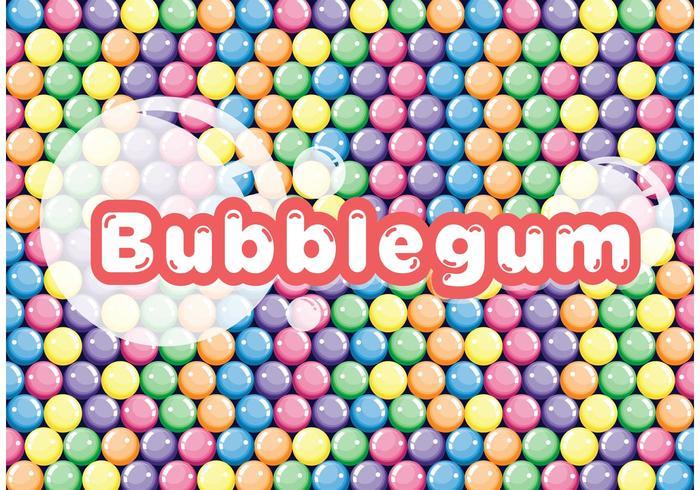 700x490 Colorful Bubblegum Vector Background
