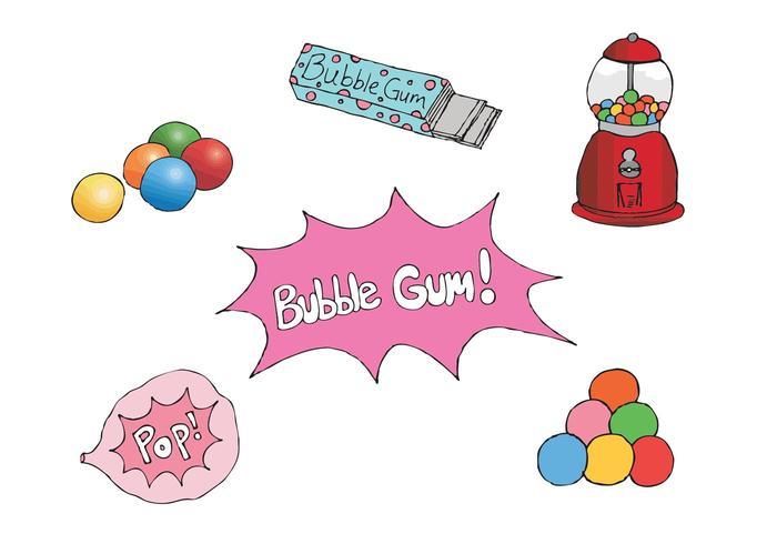 700x490 Free Bubblegum Vector Series