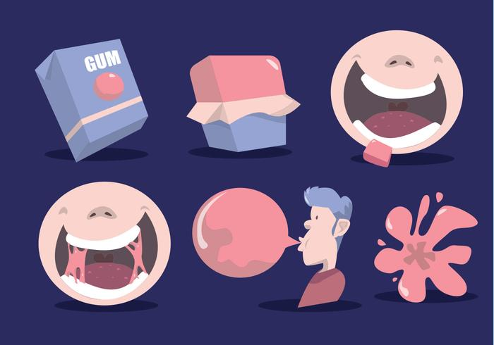700x490 How To Bubble Gum Vector