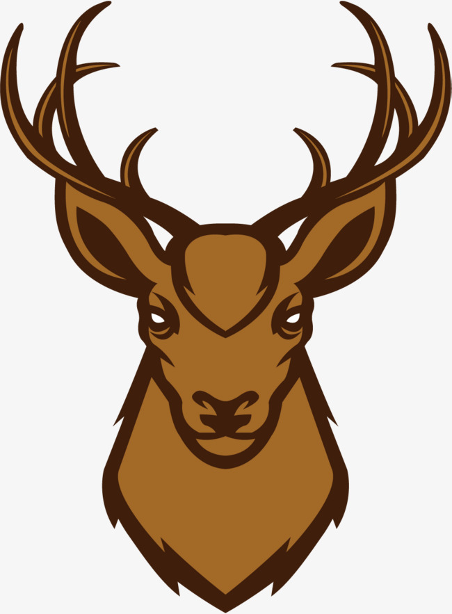 650x883 A Stately Deer Head, Nordic Deer Head, Deer Head, Northern Europe