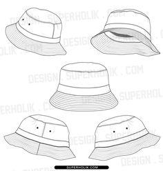 Bucket Hat Vector
