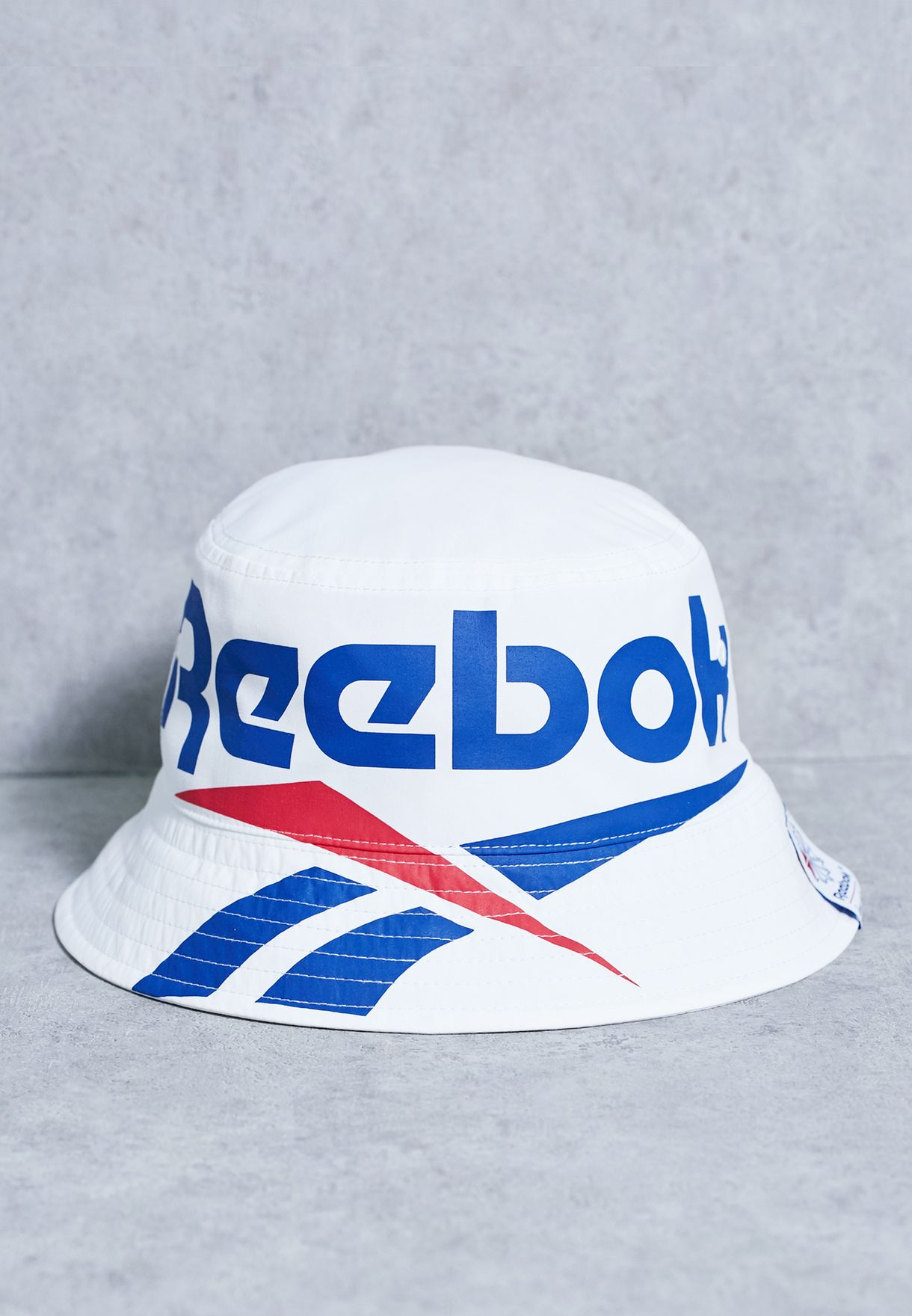 1220x1760 Shop Reebok White Classic Vector Bucket Hat Bj9136 For Women In