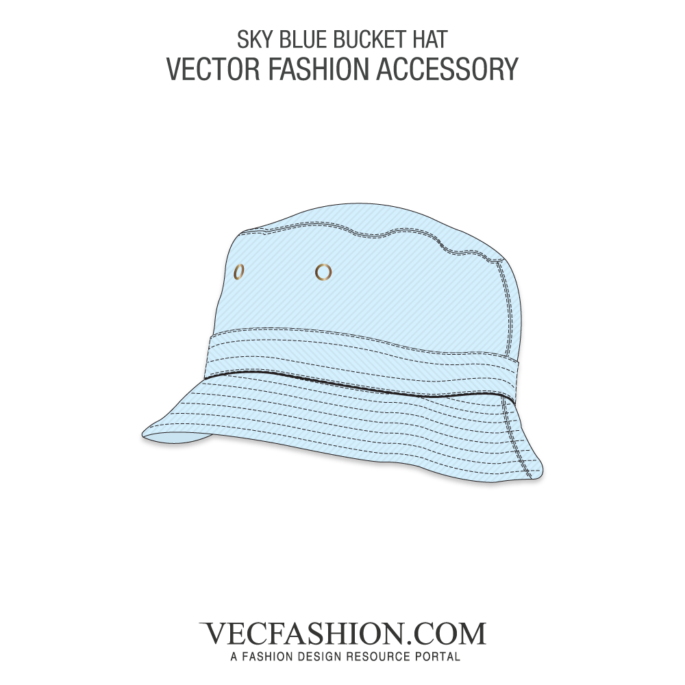 1000x1000 Sky Blue Bucket Hat