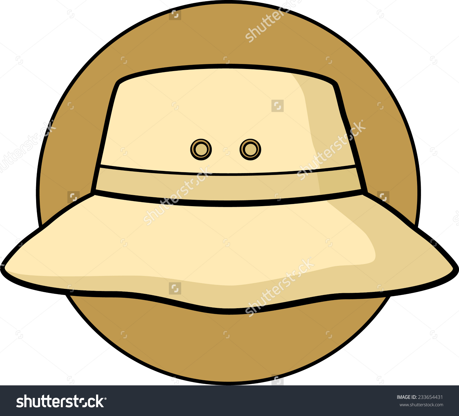 1500x1358 Bucket Hat Clipart