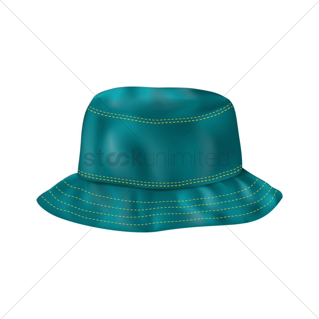 1300x1300 Bucket Hat Vector Image