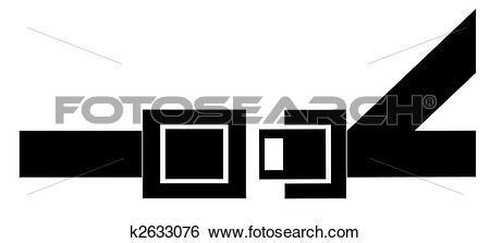 450x223 Buckle Clipart