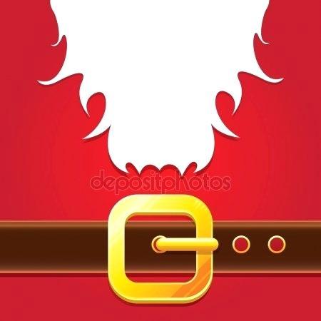 450x450 Santa Claus Belt Buckle