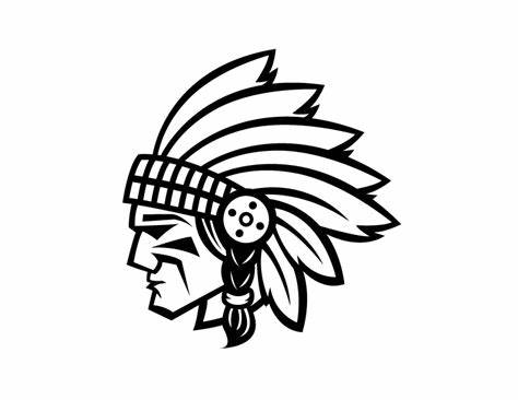 474x366 Indian Head Vector. Indian Head Clip Art Hasshe