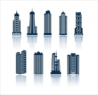 382x368 Building Icon Vector Free Vector Download (24,712 Free Vector) For