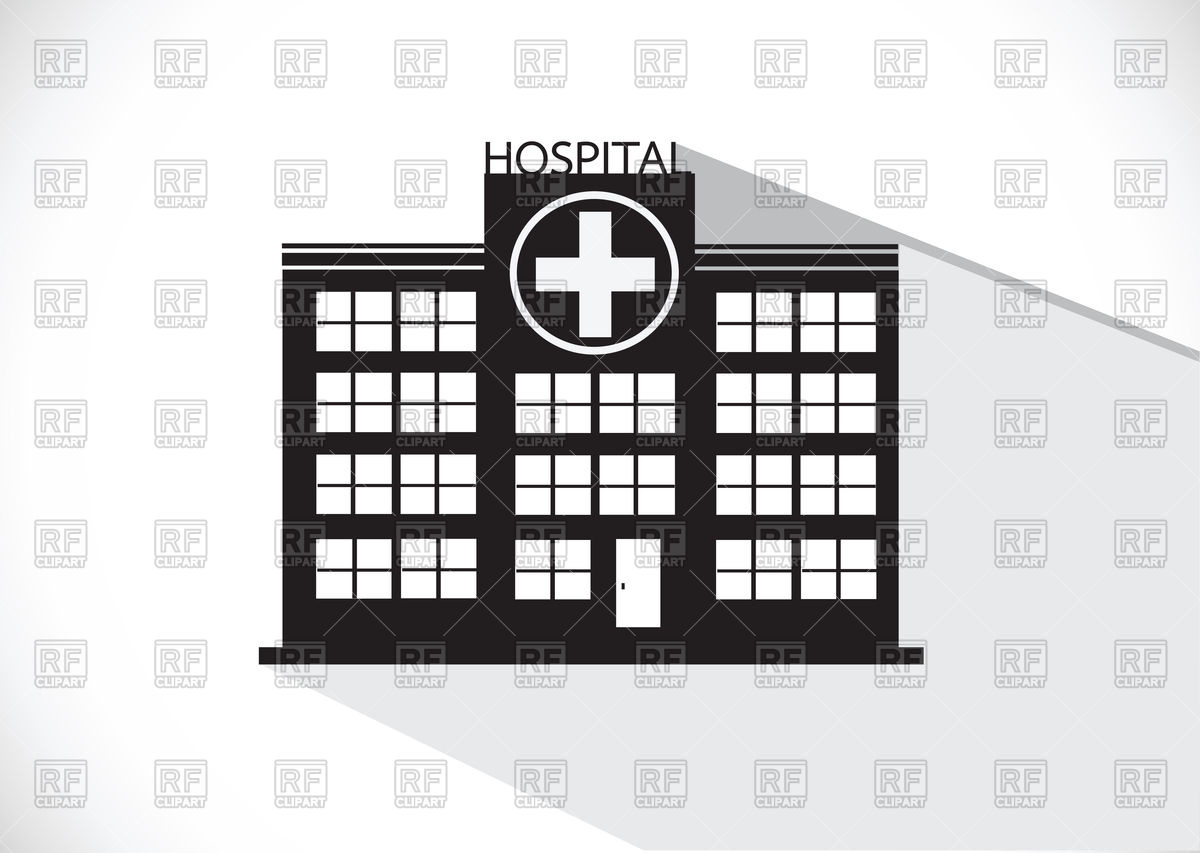 1200x853 Hospital Building Icon Vector Image Vector Artwork Of Healthcare