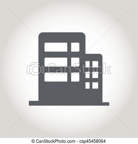 450x470 Office Building Icon Vector Clip Art Vector