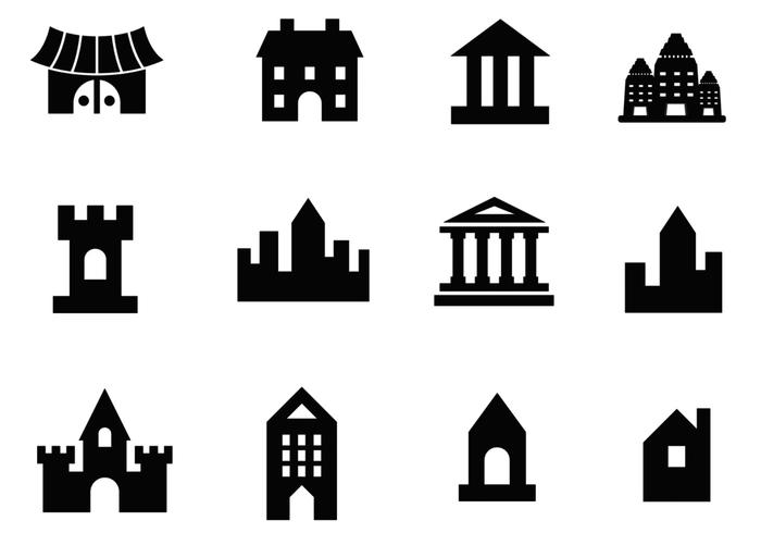 700x490 Building Vector And Architecture Vector Pack