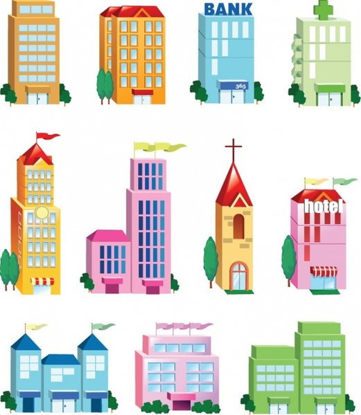 521x600 Building Png Library Download Vector Free Download