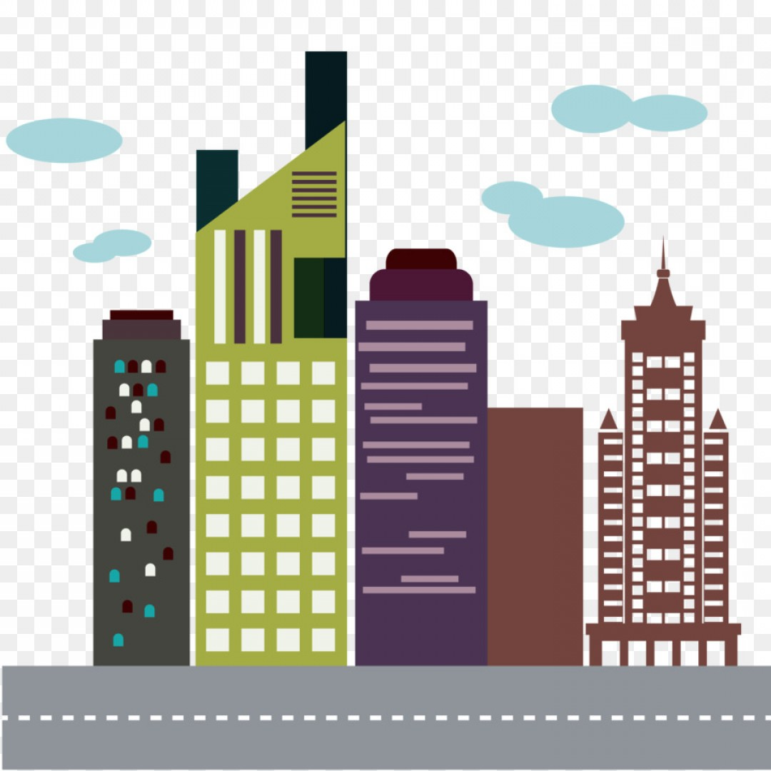 1080x1080 Png Flatiron Building Skyline High Rise Building Vecto Shopatcloth