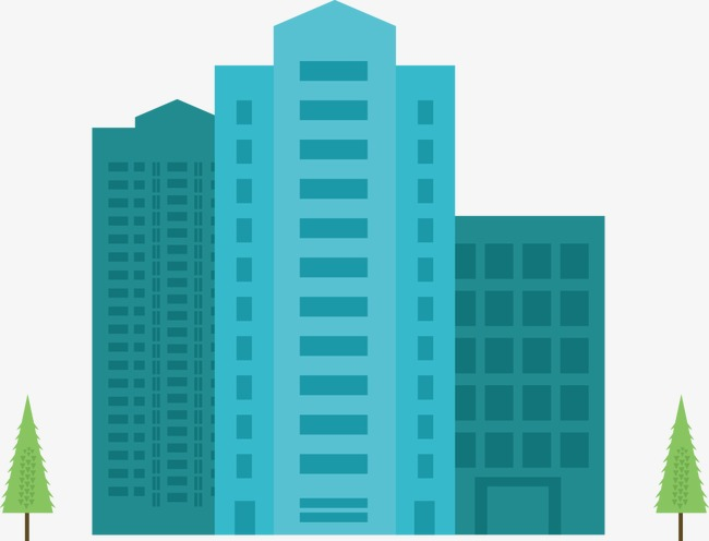 650x496 Vector Icon Design High Rise Building, Vector, Tall Buildings