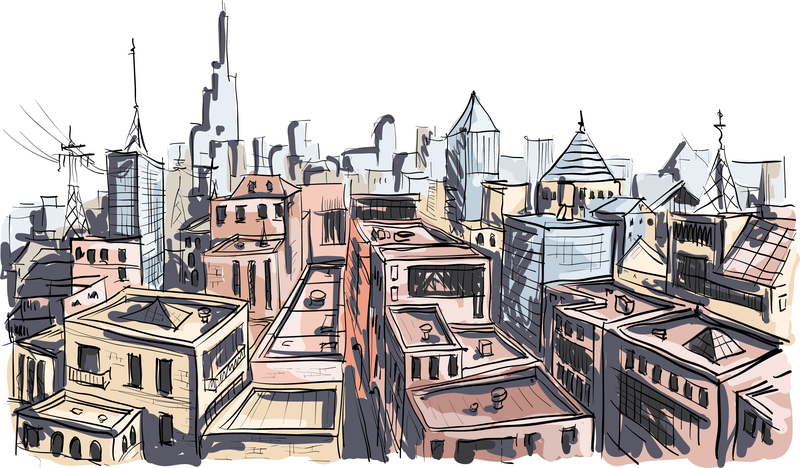 800x468 Vector Painted Building