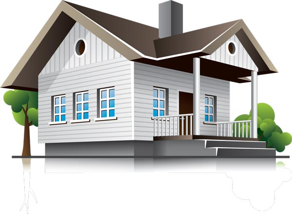 600x439 3d Houses And Office Buildings Vectors