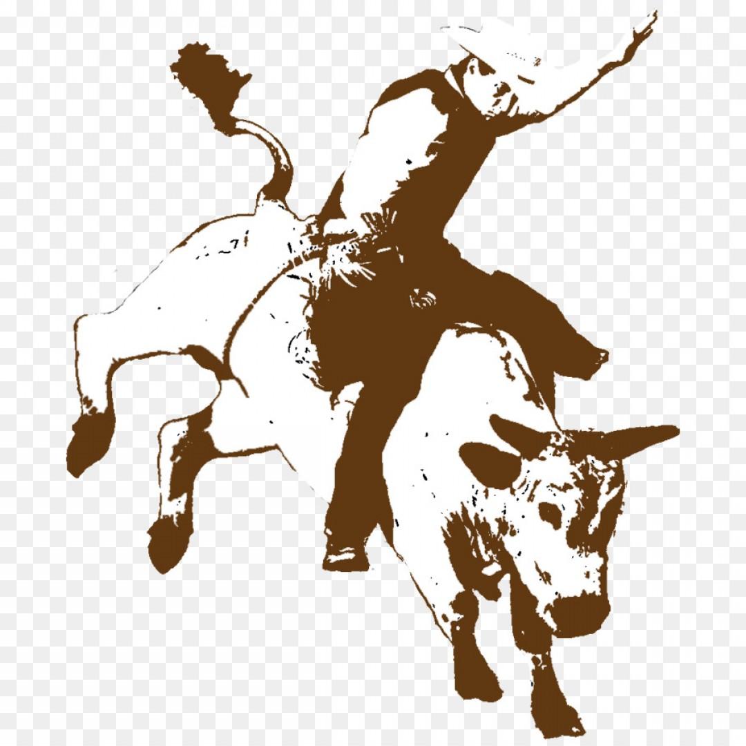 1080x1080 Png Rodeo Cowboy Bucking Bull Bull Riding Rodeo Orangiausa