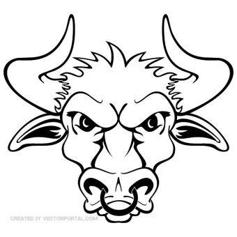 Bull Vector Art