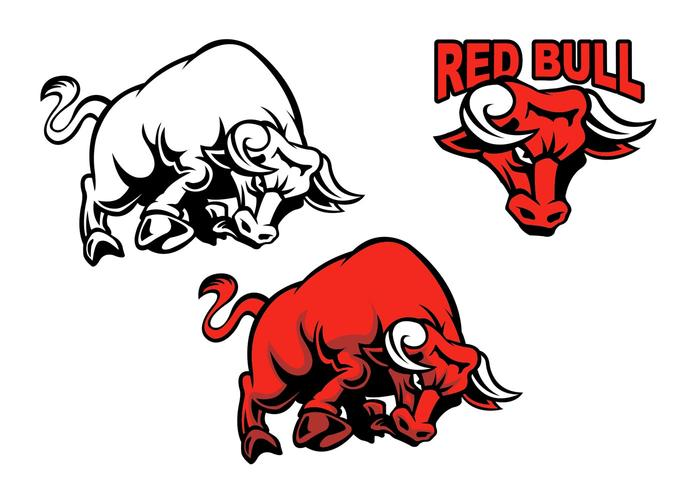 700x490 Charging Bull Vectors