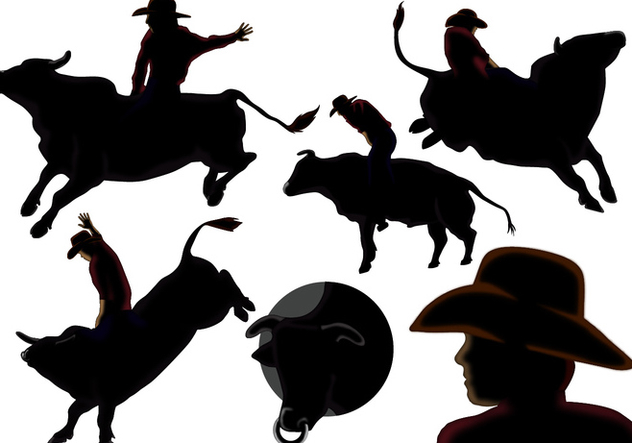 632x443 Ride The Bull Vectors Free Vector Download 362175 Cannypic
